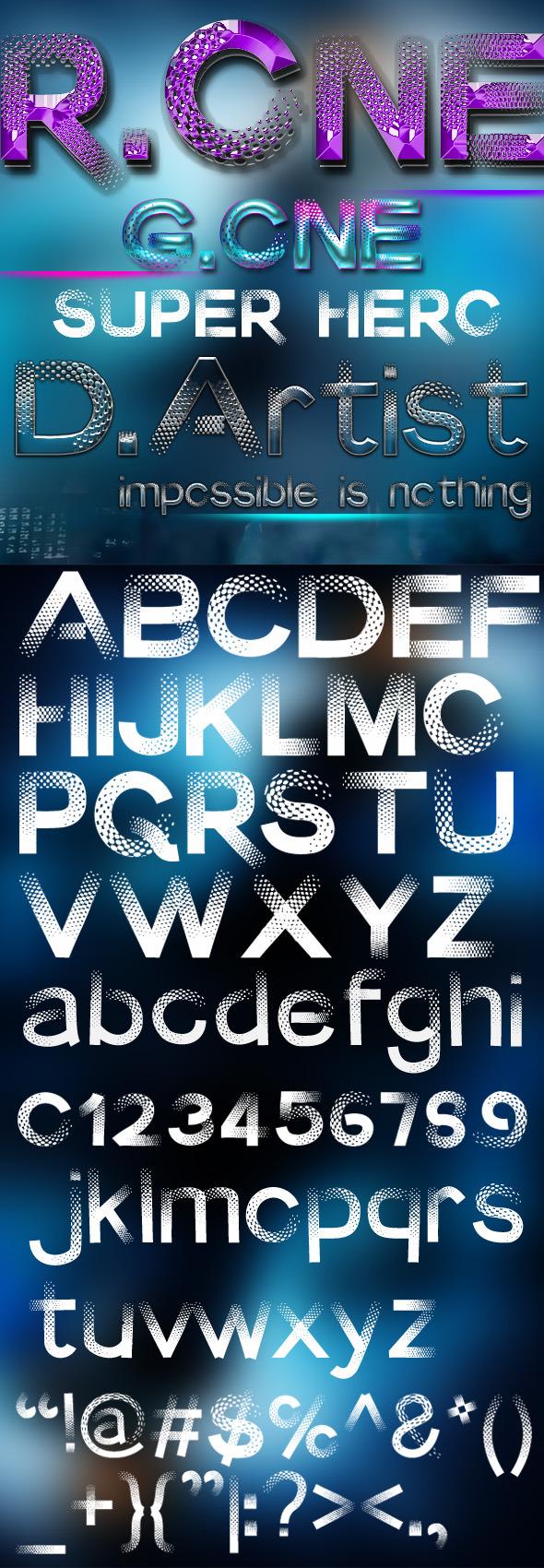 Ra One - Decorative Fonts