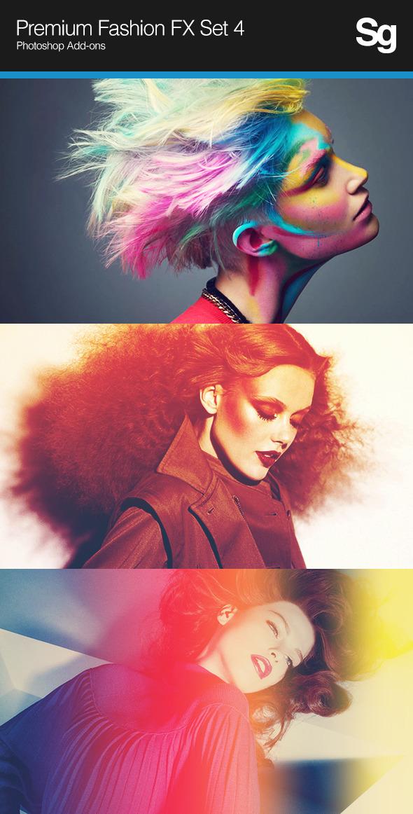 Premium Fashion FX Set 4 - Photo Effects Actions
