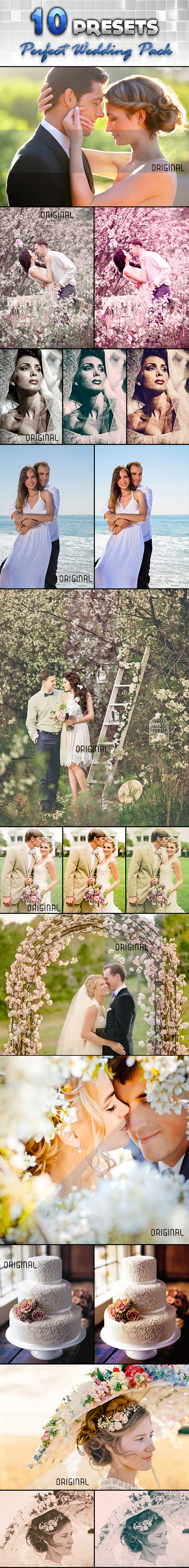 Perfect Wedding Pack - Wedding Lightroom Presets