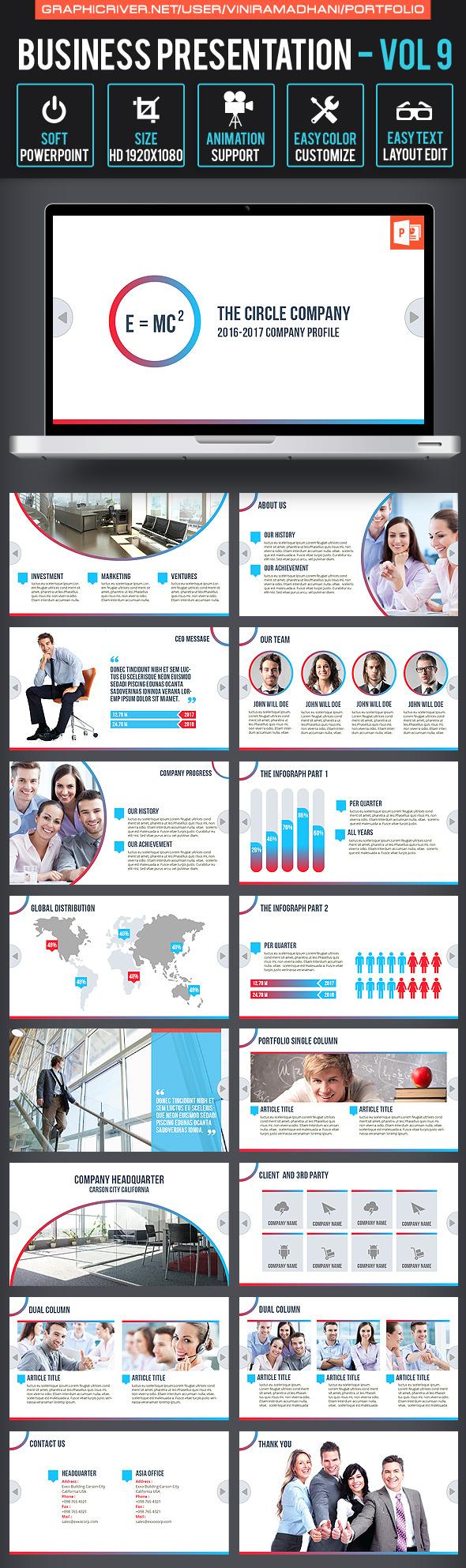 Business Presentation | Volume 9 - Business PowerPoint Templates