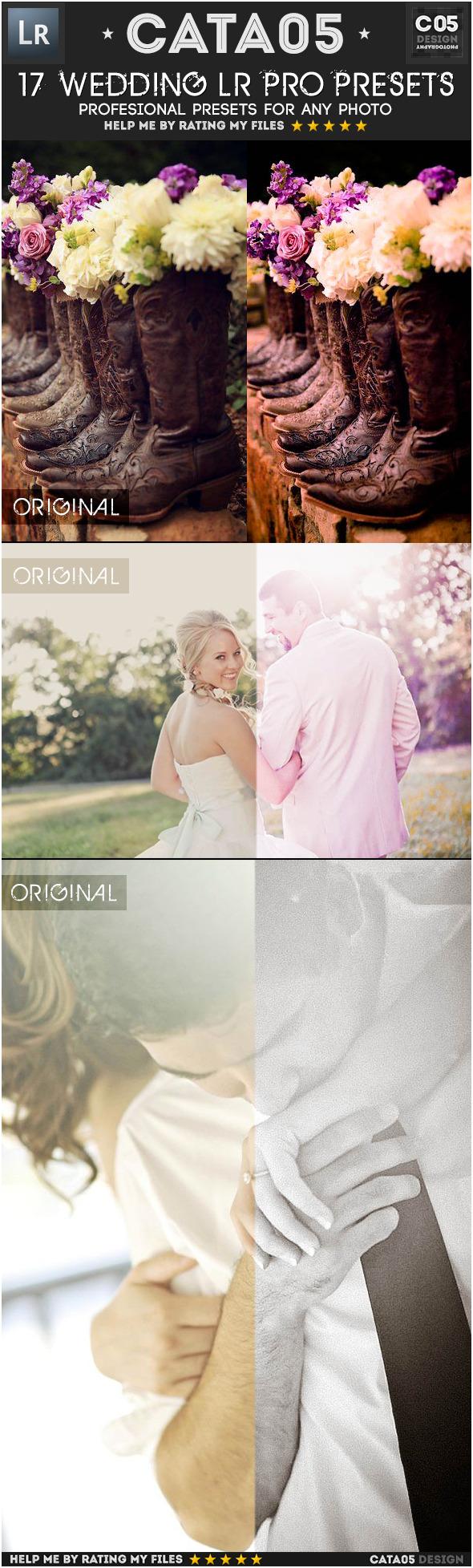 17 Wedding Pro Presets - Wedding Lightroom Presets