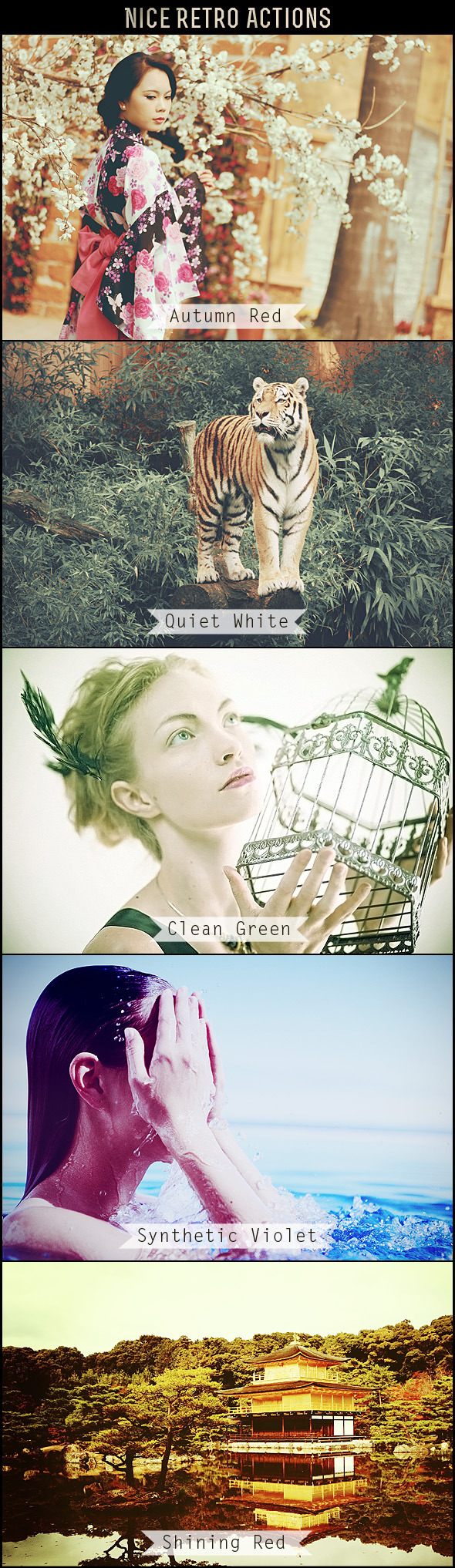 Nice Retro Actions - Photo Effects Actions