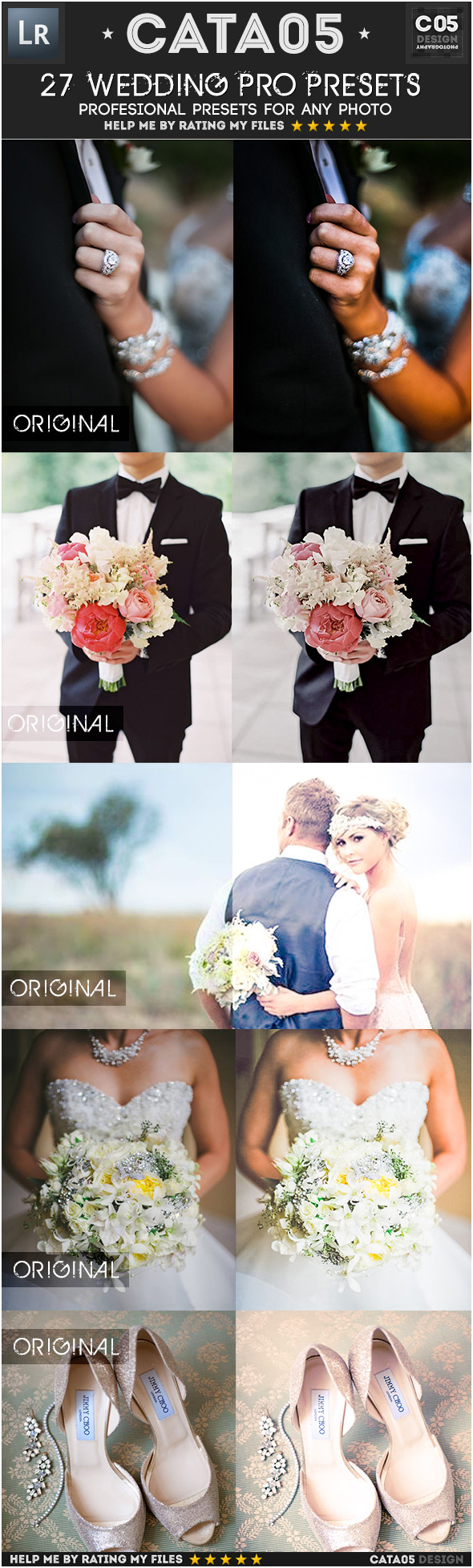 27 Wedding Pro Presets - Wedding Lightroom Presets