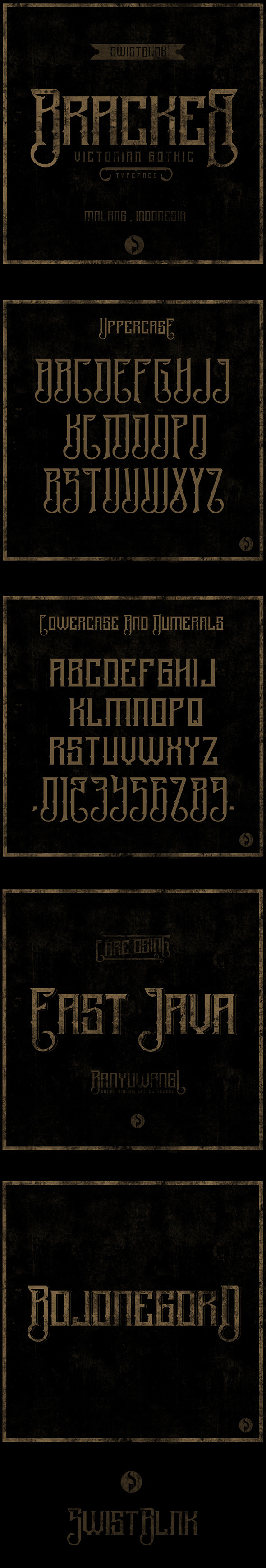 Bracker - Decorative Fonts