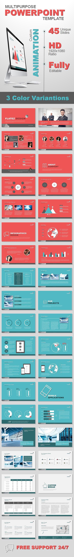 Multipurpose Business Template - PowerPoint Templates Presentation Templates