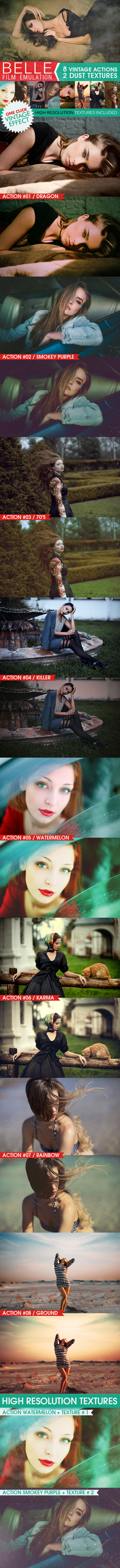 HQ Film Emulation Actions V - Photo Effects Actions