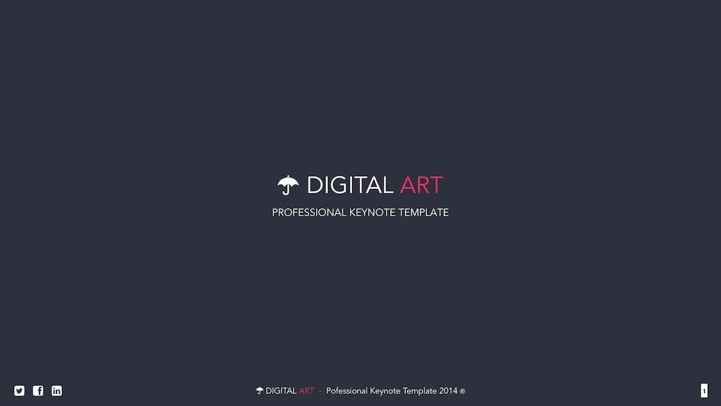 Digital Art - Creative Keynote Template by VigitalArt | GraphicRiver