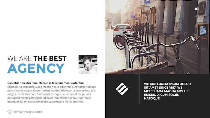 The Agency  Modern Keynote Template By Slidehack  Graphicriver