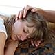 Man Cuddling Sad Girl - VideoHive Item for Sale