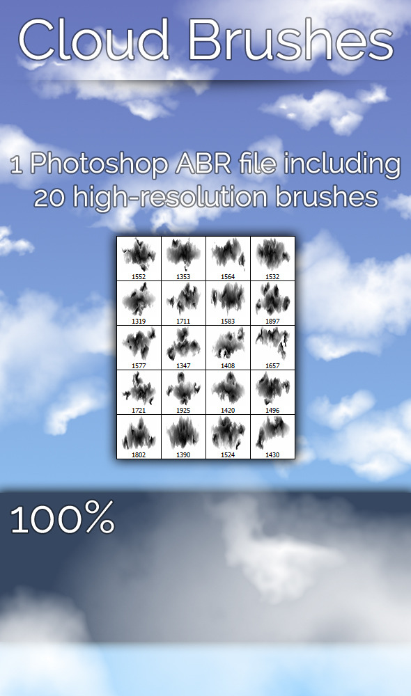 Cloud Brushes - Miscellaneous Brushes