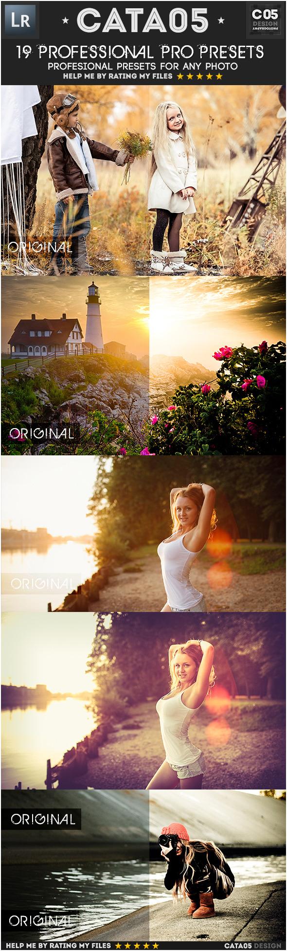 19 Professional Pro Presets - Portrait Lightroom Presets