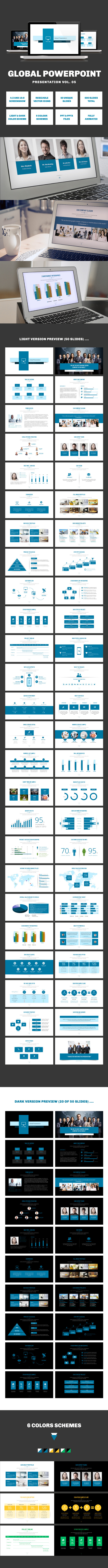 Multipurpose PowerPoint Presentation (Vol. 05) - PowerPoint Templates Presentation Templates