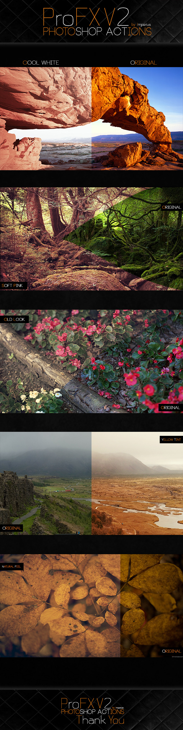 ProFX V2 Actions - Actions Photoshop