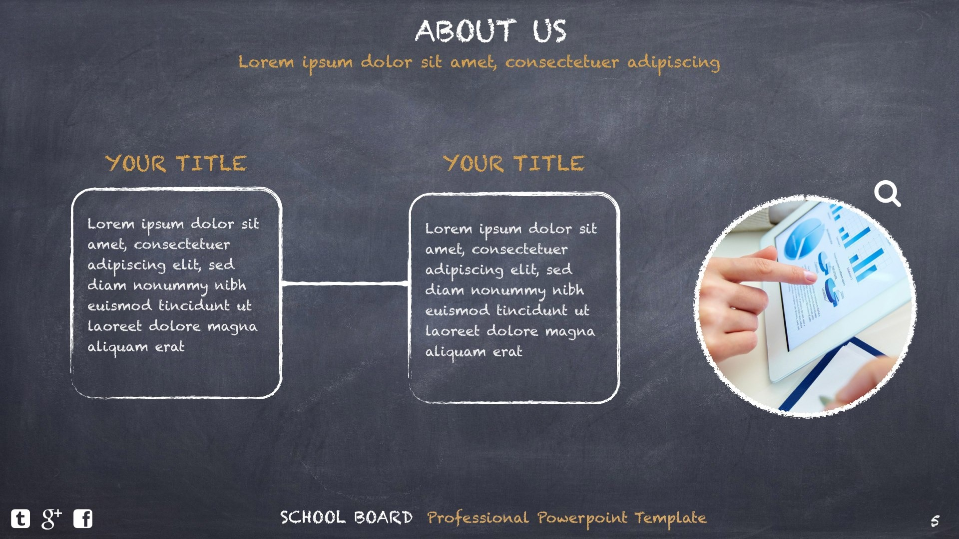 School Board Creative Powerpoint Template By Design47 Graphicriver
