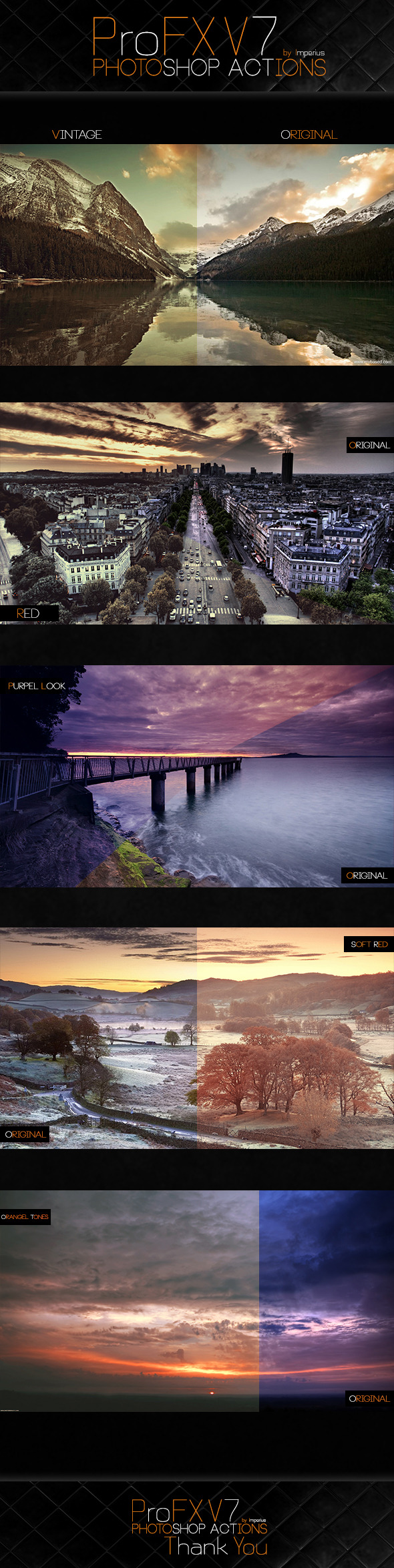 ProFX V7 Actions - Photo Effects Actions