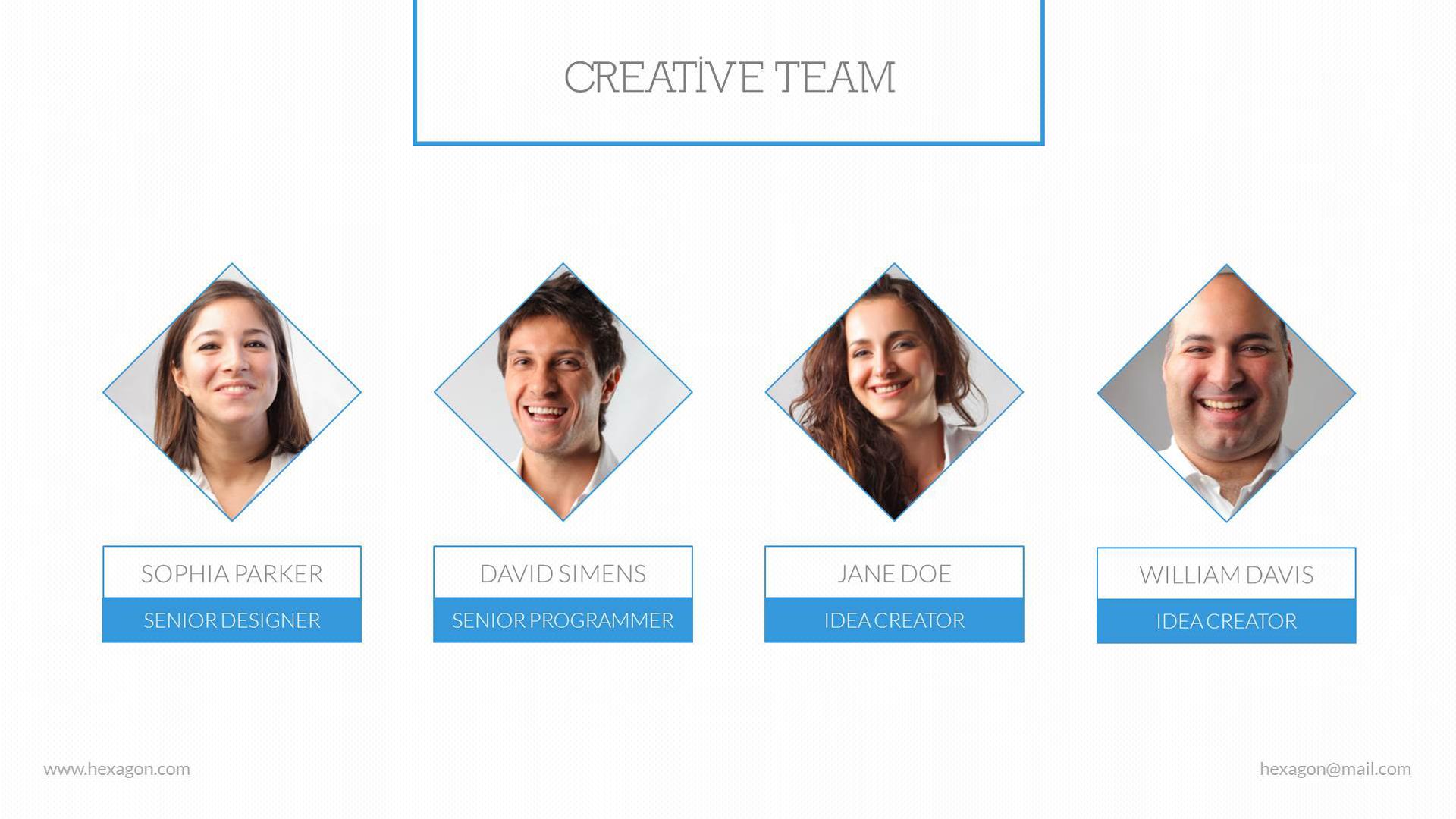 hexagon powerpoint presentation templatescopulus | graphicriver, Powerpoint templates