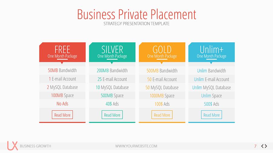 design presentation template