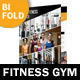 Fitness Gym Bifold / Halffold Brochure - GraphicRiver Item for Sale