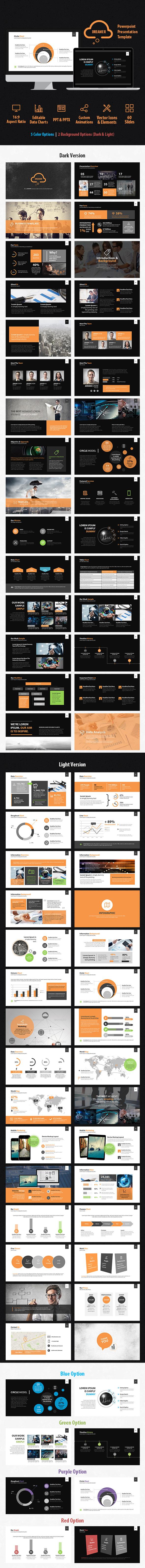Dreamer Powerpoint Presentation Template - Business PowerPoint Templates