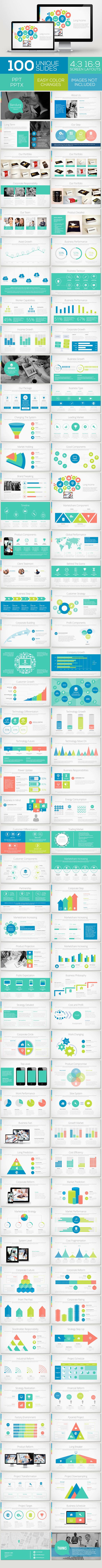Bandung Powerpoint Template Volume 4 - Business PowerPoint Templates