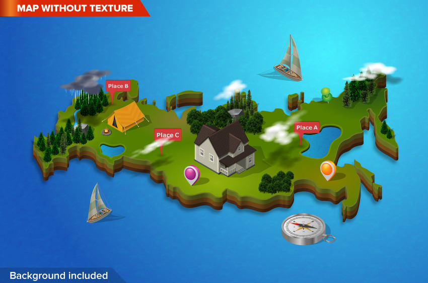 3d city and map generator by designhatti graphicriver 3d city and map generator gumiabroncs Gallery