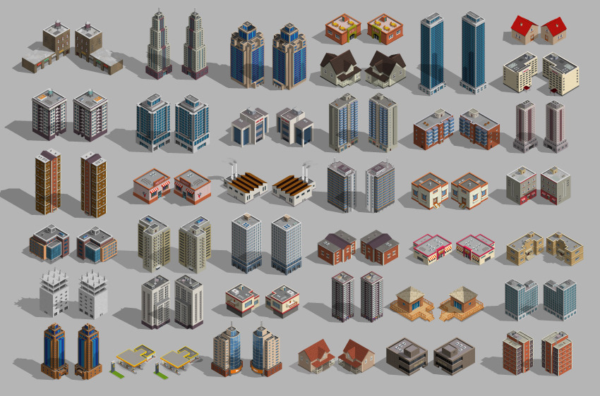 3d City And Map Generator By Designhatti Graphicriver