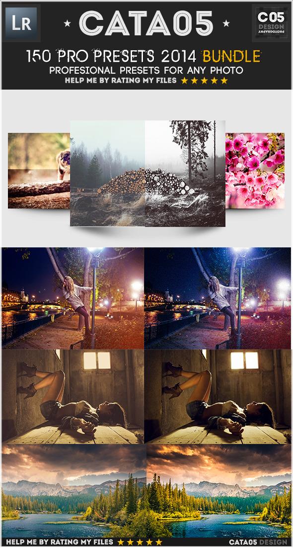 150 Pro Presets 2014 Bundle - Cinematic Lightroom Presets