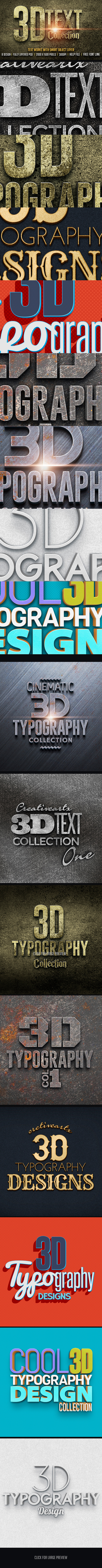 3D Text Col 1