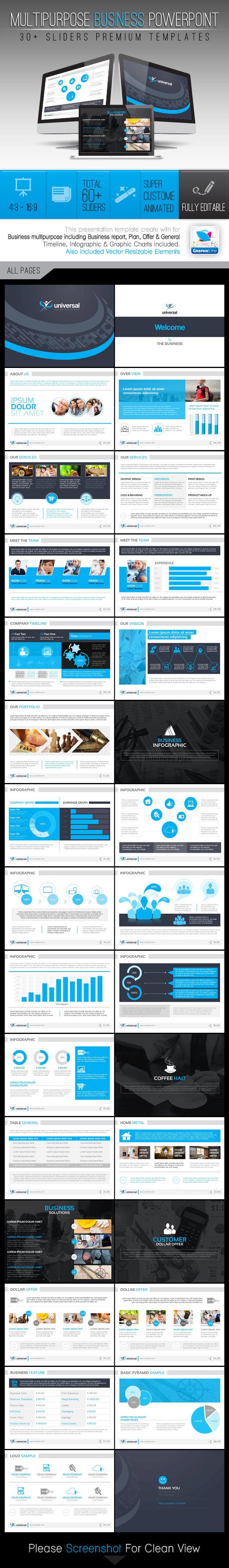 Universal_Multipurpose Business Templates