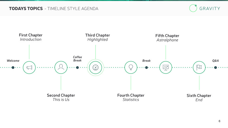 Sample Keynote Timeline Pillar Or Temple Diagrams Are Great Visuals