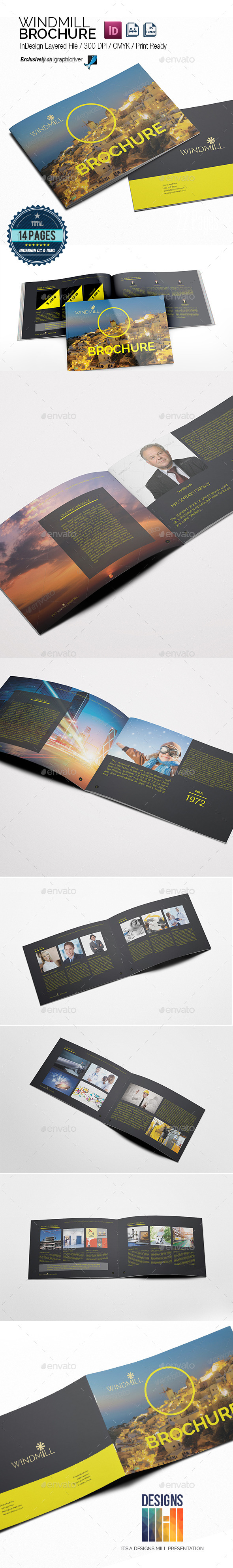 Windmill Multipurpose Brochure - Informational Brochures