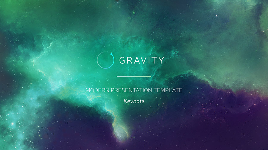 Gravity Powerpoint Modern Presentation Template By Ercn1903