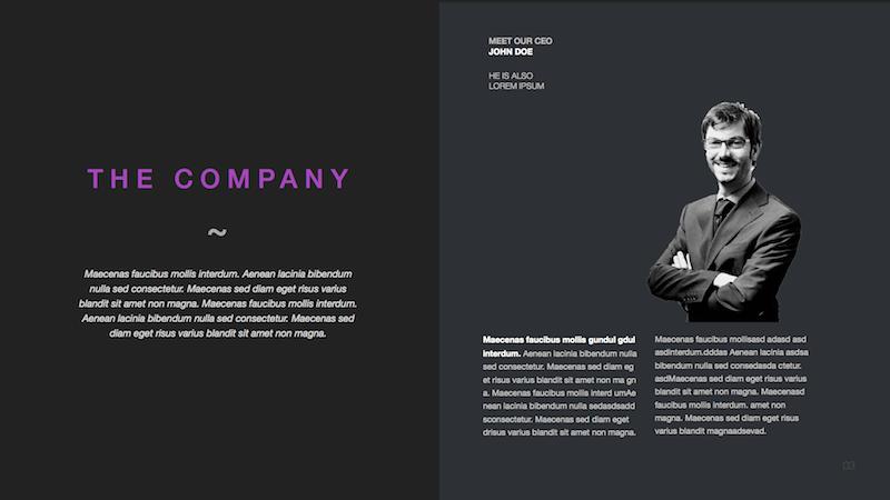 Moda Modern Powerpoint Template By Slidehack Graphicriver