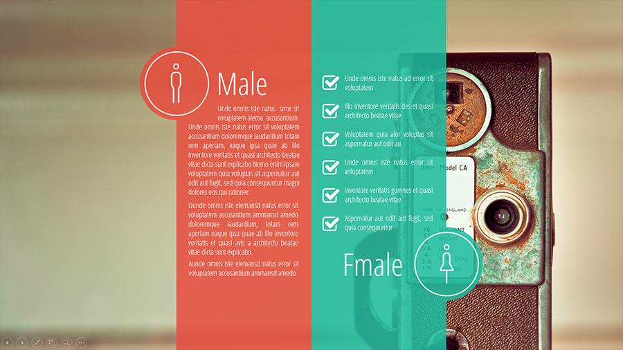 ux design presentation template by bandidos  graphicriver, Presentation