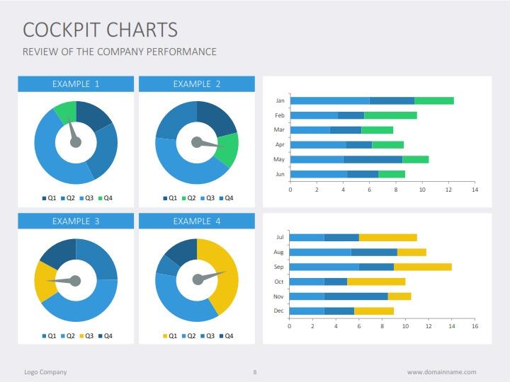 cockpit charts by slideshop graphicriver