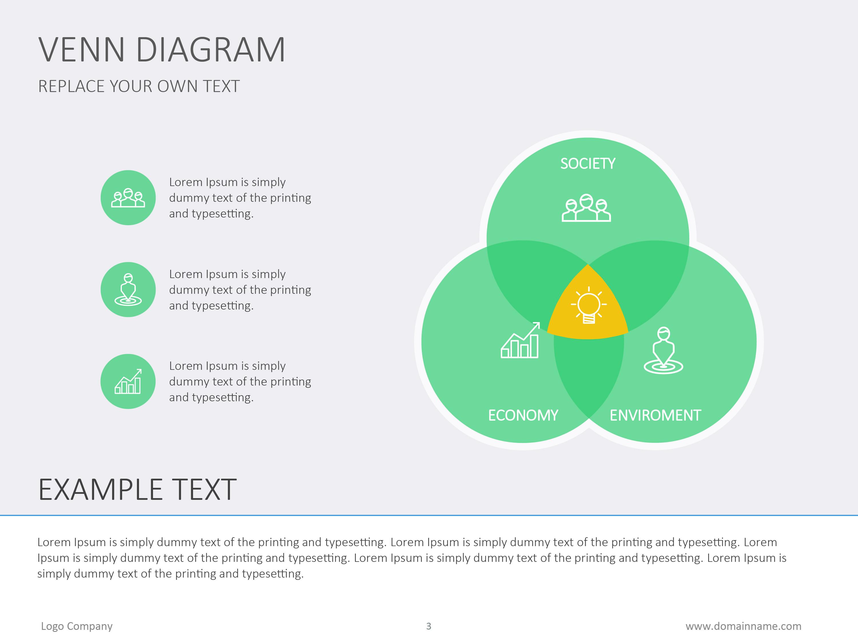 Venn diagram flat by slideshop graphicriver venn diagram flat pooptronica