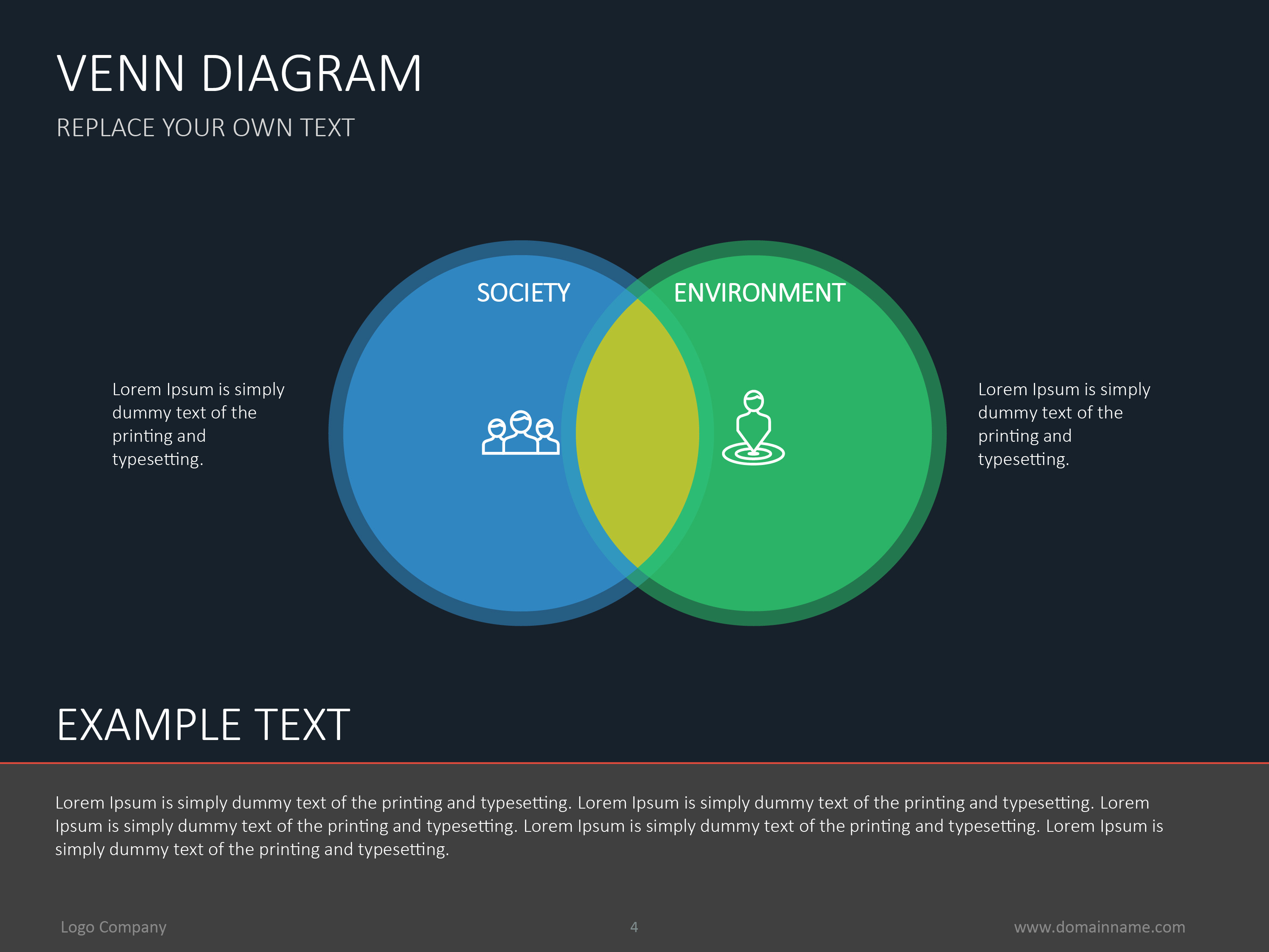 Venn diagram flat by slideshop graphicriver venn diagram flat pooptronica