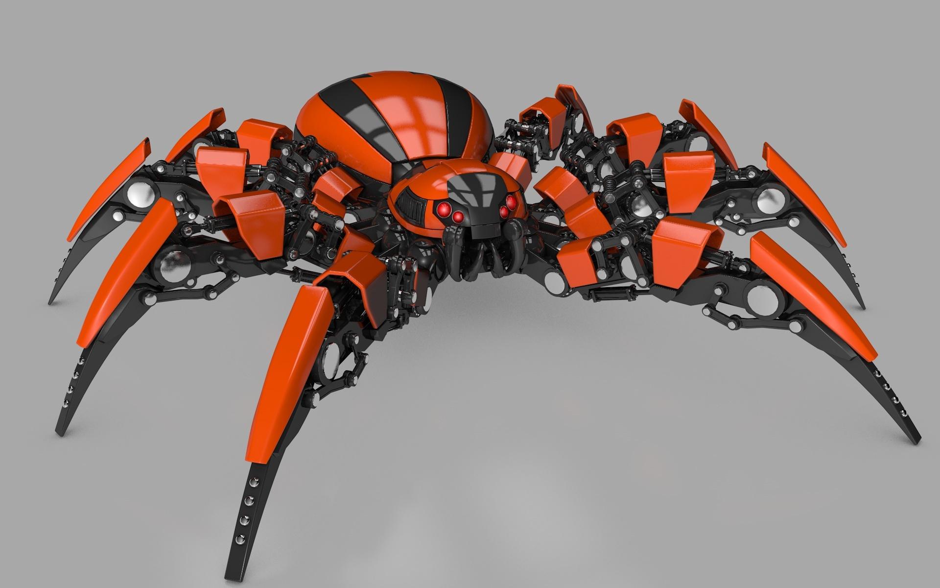 Model Cars For Sale >> Spider Robot by Vladim00719 | 3DOcean