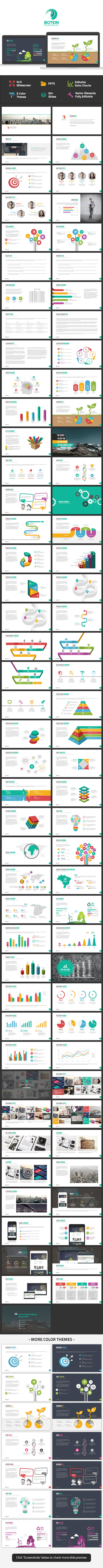 Botein Powerpoint Template - Business PowerPoint Templates