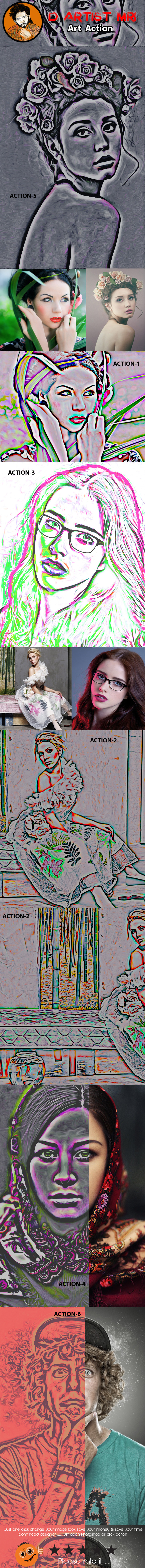 Art Action - Actions Photoshop