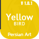 Yellow Bird - multipurpose onepage theme - ThemeForest Item for Sale