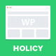 Holicy - Multipurpose Responsive WordPress Theme - ThemeForest Item for Sale