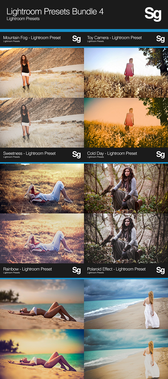 Lightroom Presets Bundle 4 - Portrait Lightroom Presets