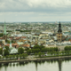 Clouds Above Riga  - VideoHive Item for Sale