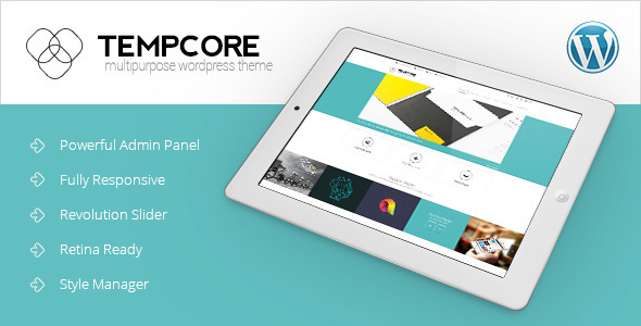 Tempcore – Responsive WordPress Theme