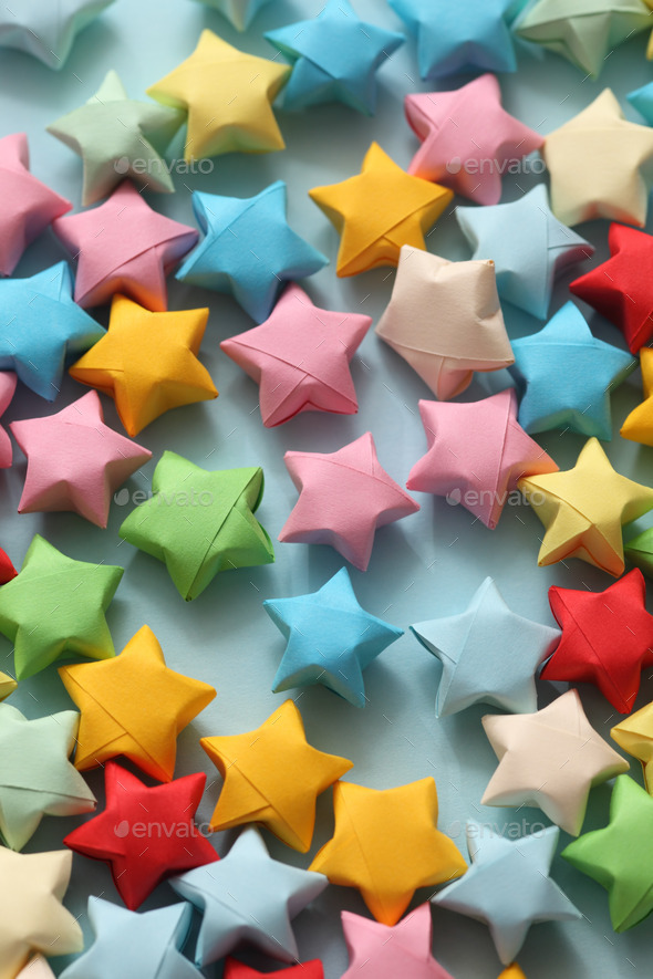 Origami Lucky Star | 885x590