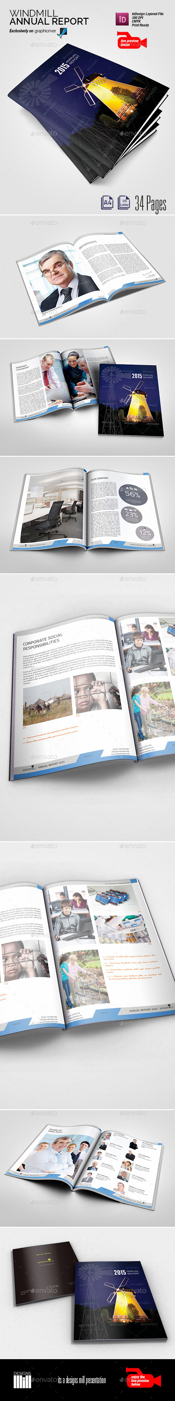 Windmill Annual Report - Corporate Brochures