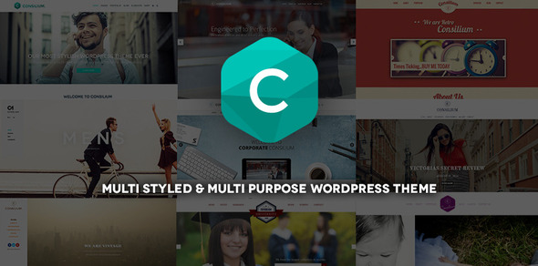 Consilium – Multi-Styled & Multi-Purpose Theme