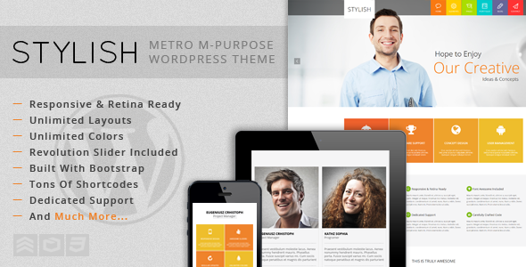 STYLISH – Metro Multi-Purpose WordPress Theme