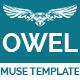Owel - Creative Multipurpose Muse Template - ThemeForest Item for Sale